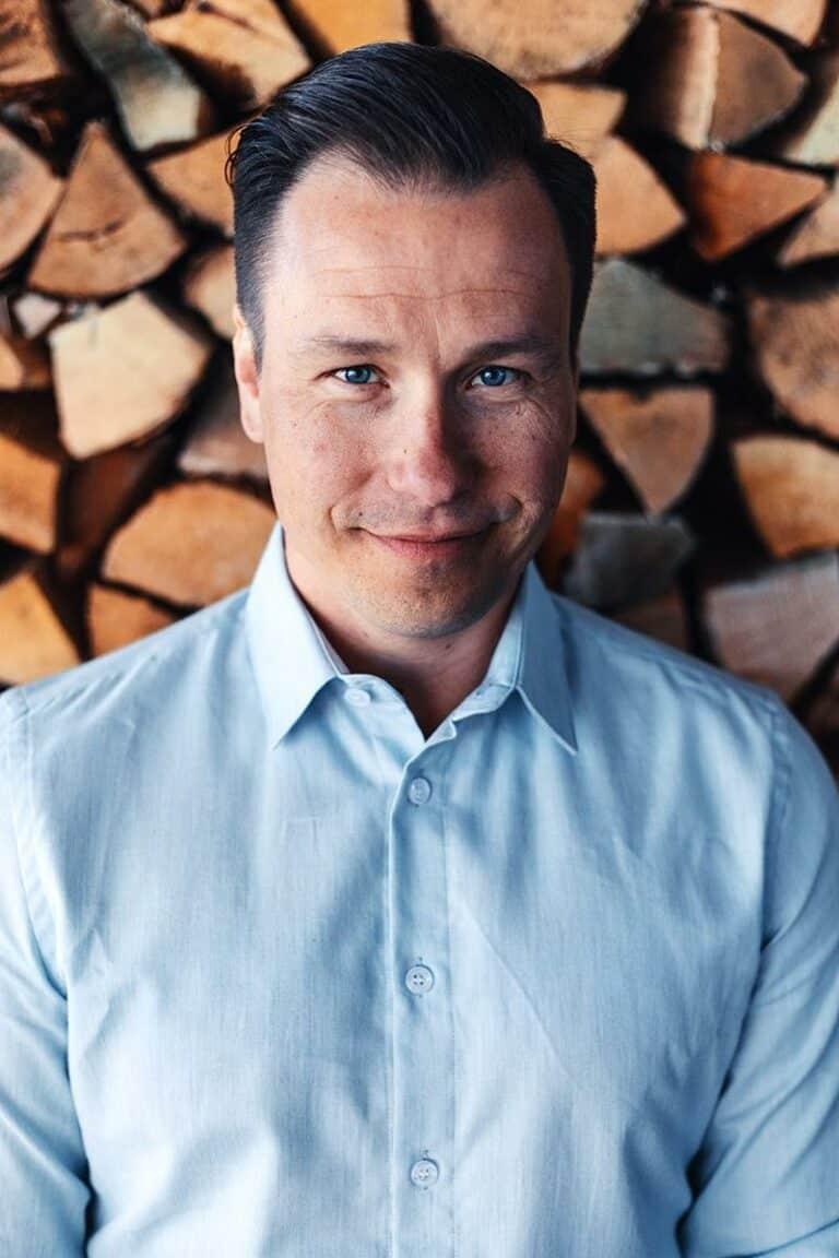 Petro Lahtinen, CEO of Woodio